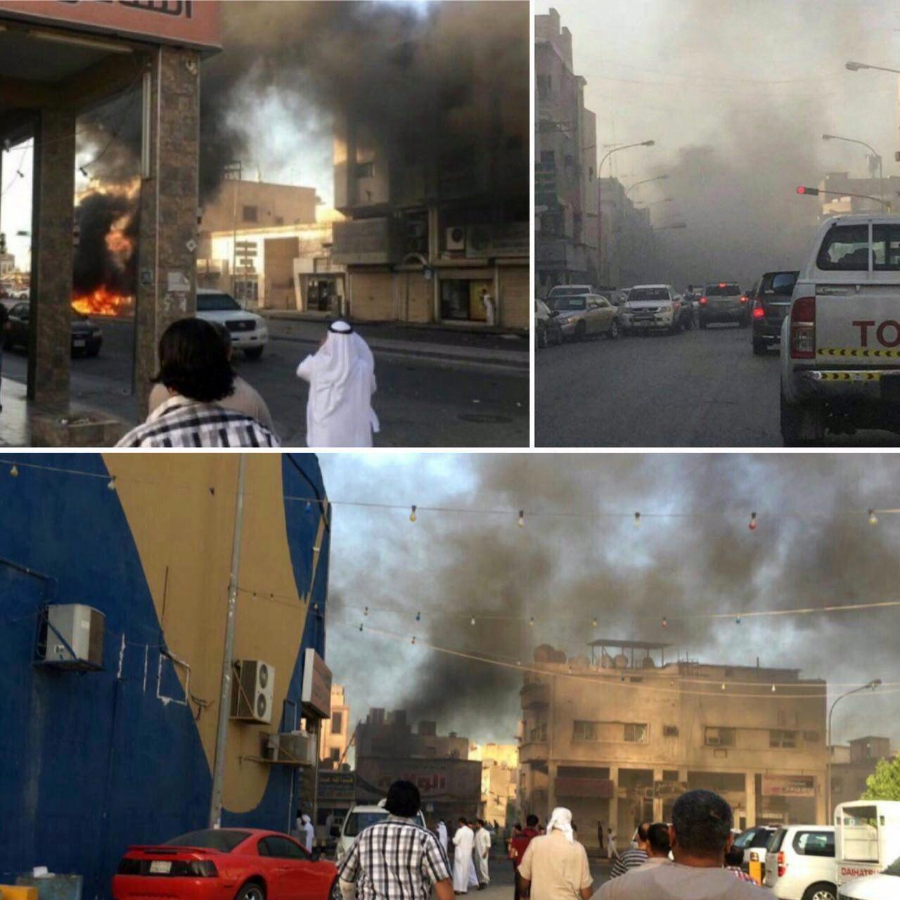 انفجار در عربستان