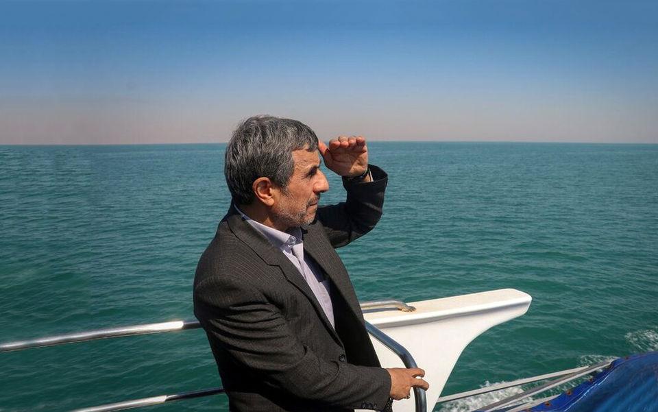 تصاویری جالب از سفر احمدینژاد و همسرش به دبی